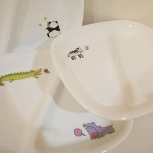 Animal Kids Plates